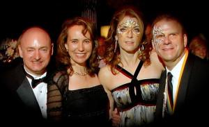 Com. Kelly, Rep. Giffords join Paige & Tilman Fertitta in Galveston.