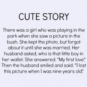 Cute Story - Girly Quote
