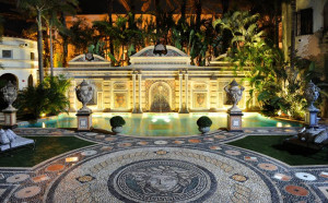 """The hotel's 54ft """"thousand mosaic"""" swimming pool is lined in 24 ..."""