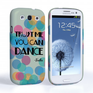 ... Caseflex Samsung Galaxy S3 Mini Vodka Dance Quote Hard Case – Green