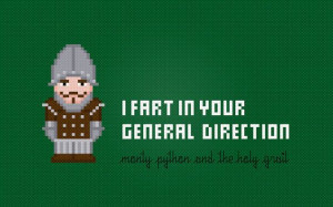 Monty Python and the Holy Grail Movie Quote by pixelpowerdesign