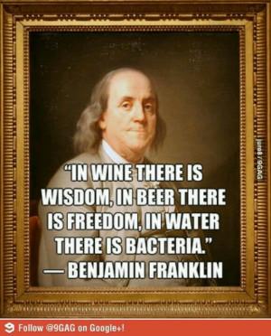 Beer and wine wisdom from Ben