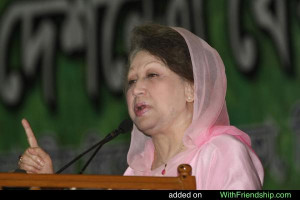Khaleda zia - BNP was founded by her late husband President Ziaur ...