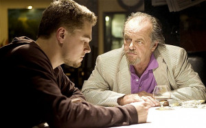 ... , left, and Jack Nicholson in 'The Departed' Photo: WARNER BROS/REX