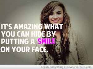cute, fake a smile, girls, life, pretty, quote, quotes