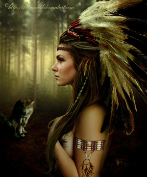 Native american by thornevald
