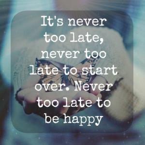Fresh Start Quotes Tumblr
