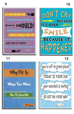 Dr. Seuss Quote Art - 11