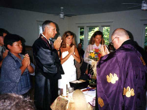 couples are now choosing a wedding aboard, A Thai Buddhist wedding ...