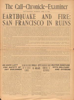 California Earthquake Quote