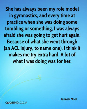 She has always been my role model in gymnastics, and every time at ...