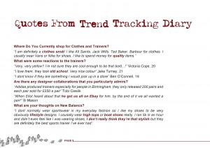 New Balance Diary Quotes