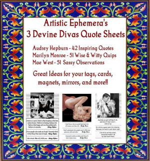 QS25-27 DEVINE DIVA Quotes - Wise, Inspiring and Sassy Sayings by ...