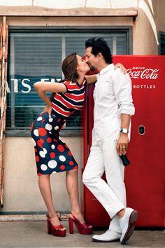 ... , Ben Y Talisa, Couples Stalking Benjamin, Talisa Soto, Colors Things