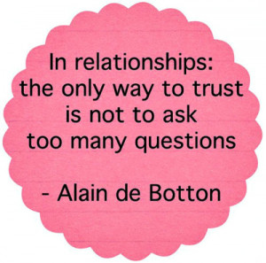 as soon as you trust as soon as you trust