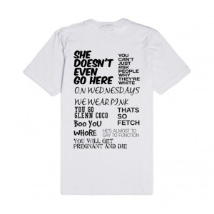 mean-girls-quotes.american-apparel-unisex-fitted-tee.white.w760h760 ...