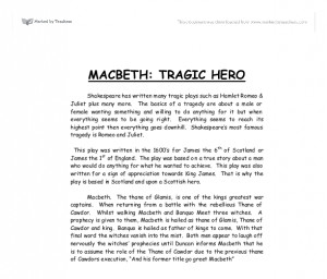 romeo tragic hero essay Transcript of is romeo truly a tragic hero: thesis statement and essay outline five paragraph essay strong thesis statement romeo is a tragic hero because.