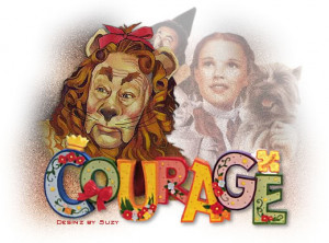 Courage Lion Courage - lion