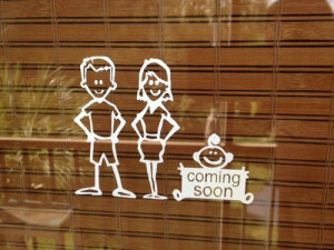 Cute Expecting Baby Quotes Really cute stick family