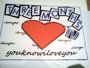 Happy 3 Months Anniversary Quotes. Happy Anniversary 9 Month. View ...