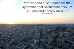 Rosecrans Baldwin quote about Paris