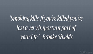 Brooke Shields Quote