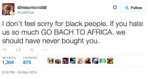 """High School Apologizes For Teen Who Posted """"Go Back To Africa ..."""