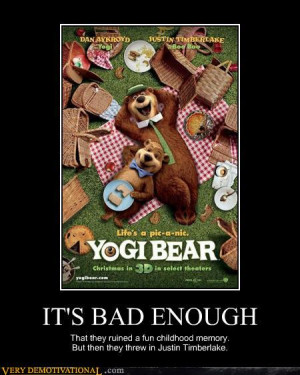 Go Back > Gallery For > Funny Yogi Bear Quotes