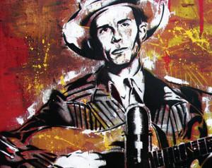 Hank Williams, Sr. - Ramblin' M an - 18 x 12 High Quality Art Print ...