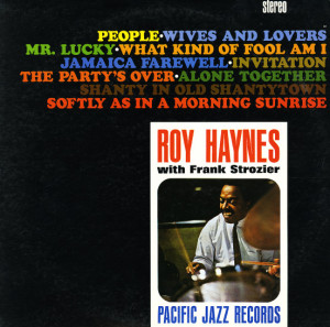 Roy Haynes- People - Pacific Jazz (stereo)