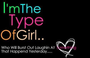 Myspace Graphics > Quotes > im the type of girl Graphic