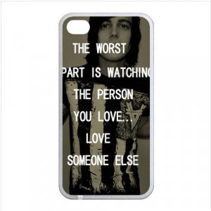 Sleeping with Sirens Quotes Lyrics Apple iphone 4/4s Waterproof TPU ...