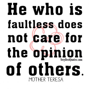 About Others Opinion Quotes