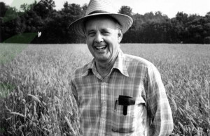 Wendell Berry, photo courtesy of Festival of Faiths