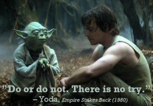 Yoda....love this quote