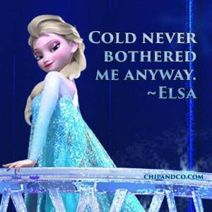 Frozen Elsa Quotes Elsa - frozen