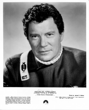 ... William Shatner as James T. Kirk from Star Trek V: The Final Frontier