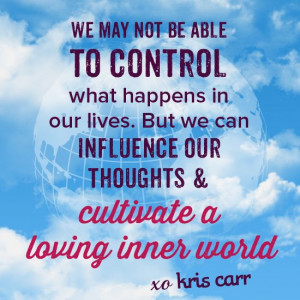 ... Kris Carr Quote #wisdom #affirmation #health #wellness #quotes #