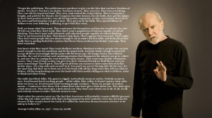 text quotes George Carlin philosophy - Wallpaper (#813102) / Wallbase ...
