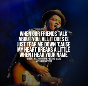Bruno Mars Quotes Tumblr