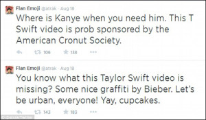 ... Odd Future, also had some thoughts on Swift's