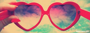 Heart Glasses {Girly Facebook Timeline Cover Picture, Girly Facebook ...