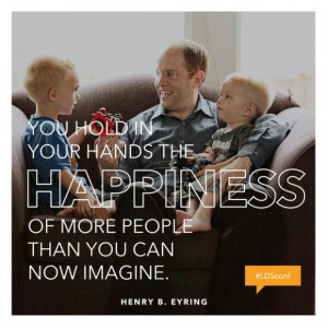 ... henry b eyring lds general conference april 2014 courtesy of lds org