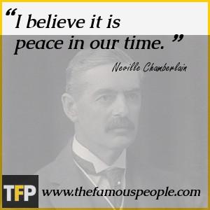 Neville Chamberlain Biography