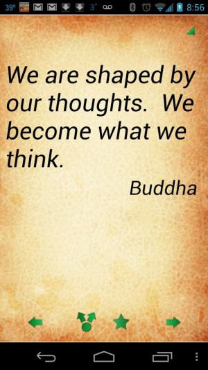 Buddha Quotes - screenshot