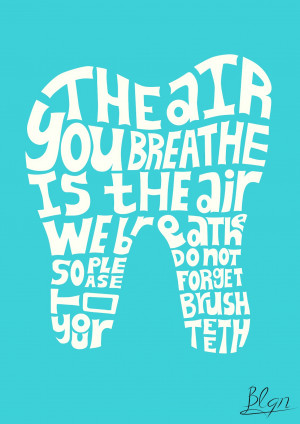 blgn brush your teeth tumblr typography 0 comments brush your teeth ...