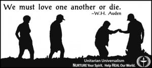 "this graphic, illustrating the W.H. Auden quote, "" We must love ..."