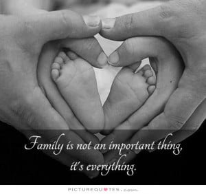 Family Over Everything Quotes Family is not an important