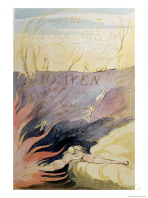Famous quote of William Blake, The Marriage of Heaven and Hell,