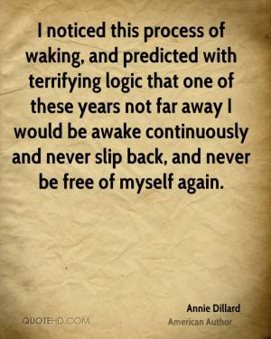 Annie Dillard Quotes